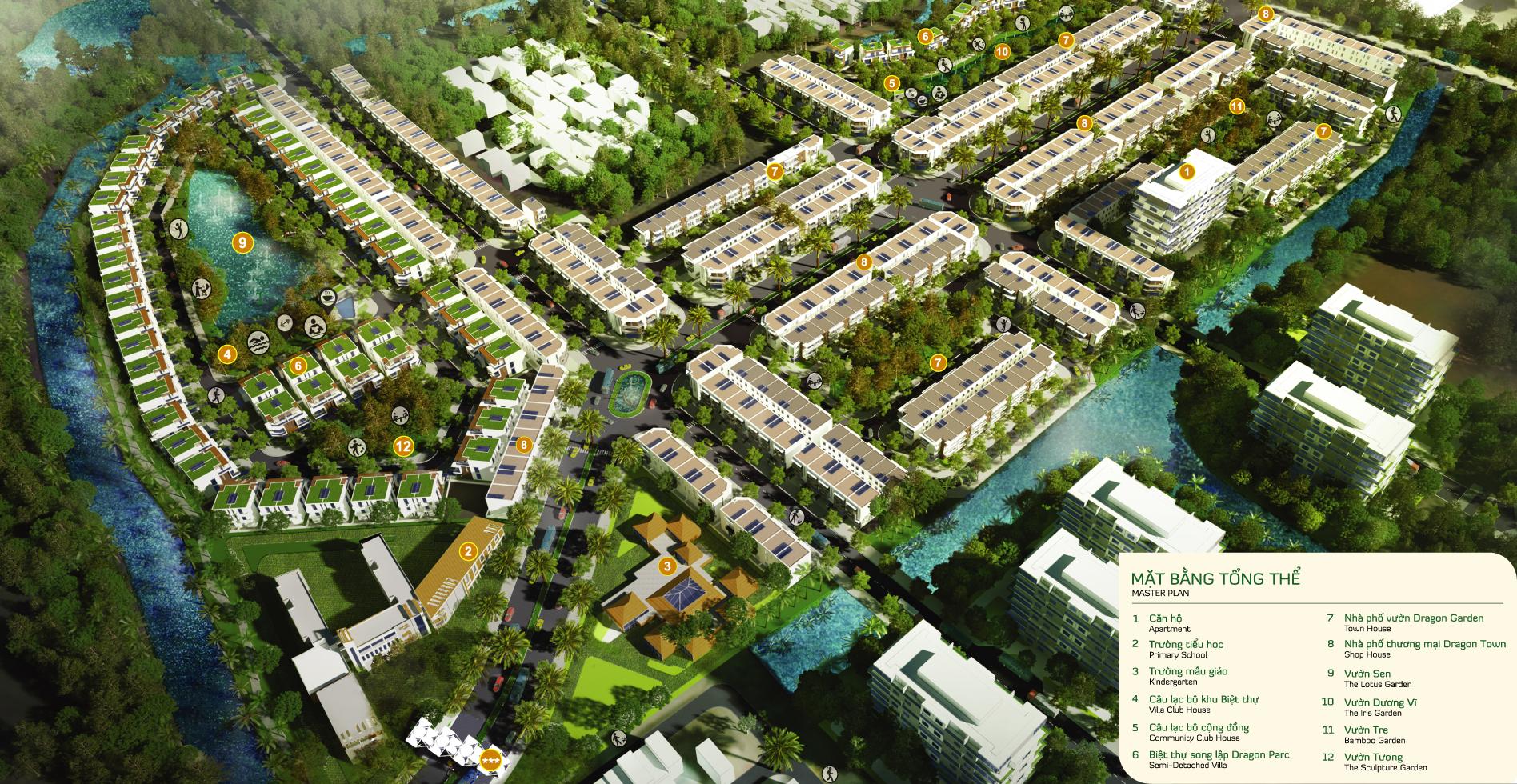 Tiện ích dự án Dragon Village Quận 9